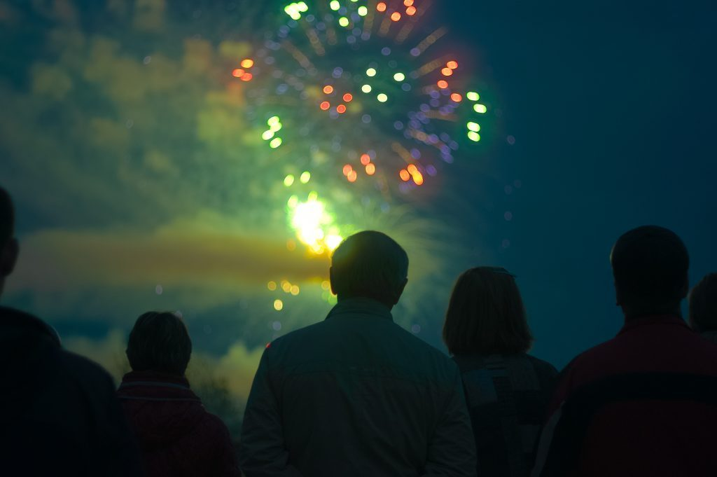 Fireworks display - DUI Defense Springfield